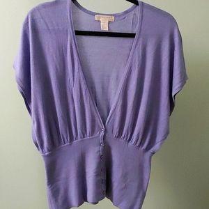 KENAR Lilac Knit Top